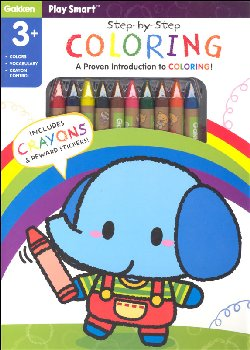 Play Smart Step-by-Step Coloring age 3+