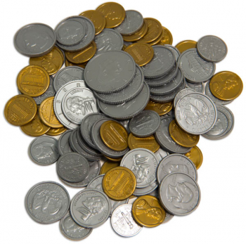 Plastic Coins - Bag of 98