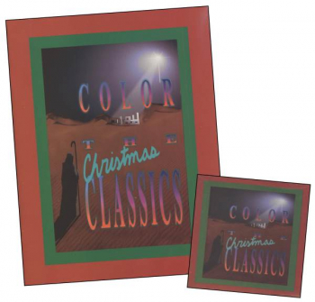 Color the Christmas Classics Book & CD Set