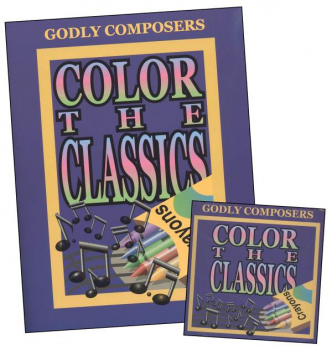 Color the Godly Composers Book & CD Set