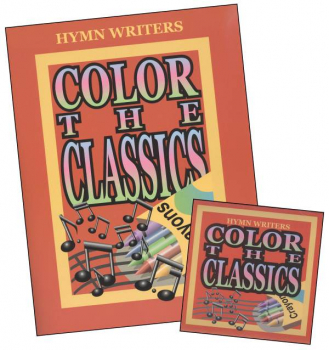 Color the Hymn Writers Book & CD Set