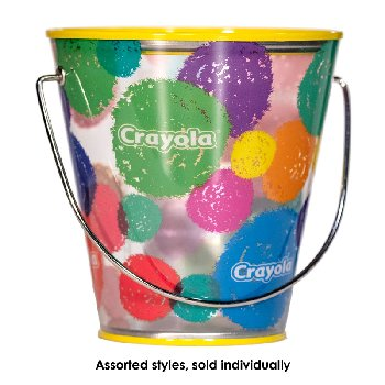 Crayola Clear Small Pail (Assorted Designs)