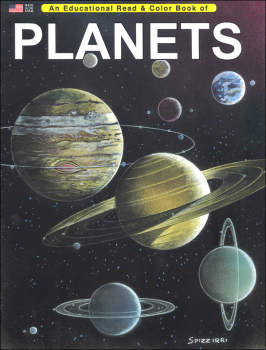 Planets (Educational Read & Color Book)