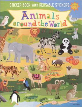 Animals Around the World Kid's Sticker Book