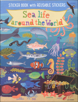 Sea Life Around the World Kid's Sticker Book