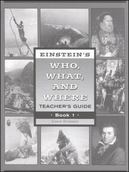Einstein's Who, What and Where Book 1 Teacher