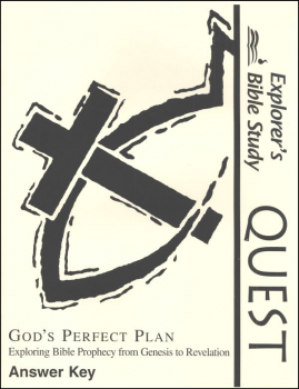Bible Quest: God's Perfect Plan Answer Key