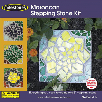 "Moroccan Stepping Stone Kit (8"")"