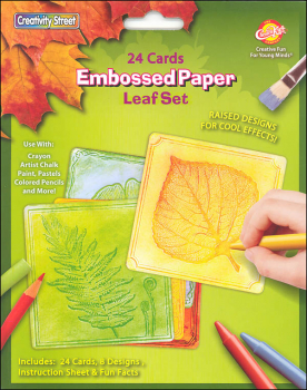 Embossed Paper Set - Leaf Collection