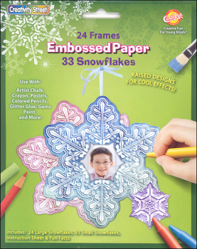 Embossed Paper Set - Snowflake Collection
