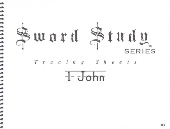 1 John Sword Study Tracing Sheet - English Standard Version