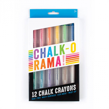 Chalk-O-Rama Chalk Crayons (set of 12)