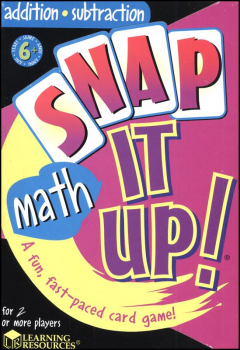 Snap It Up! Addition / Subtraction Game