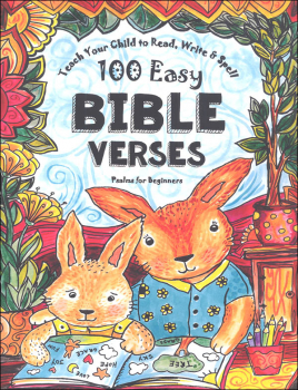Teach Your Child to Read, Write & Spell 100 Easy Bible Verses