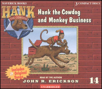 Hank #14 - Hank and Monkey Business Audio CD