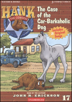 Hank #17 - Case of the Car and the Barkaholic Dog Audio CD