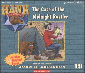 Hank #19 - Case of the Midnight Rustler Audio CD