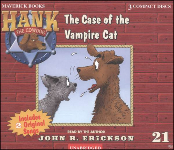 Hank #21 - Case of the Vampire Cat Audio CD