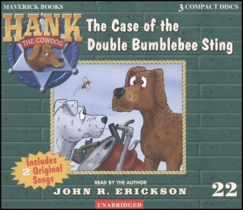 Hank #22 - Case of the Double Bumblebee Sting Audio CD