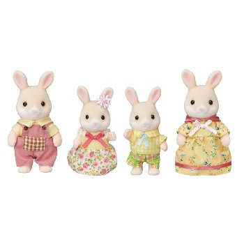 Margaret Rabbit Family (Calico Critters)