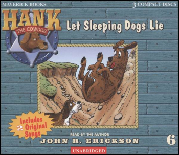 Hank #6 - Let Sleeping Dogs Lie Audio CD