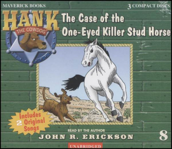 Hank #8 - One-Eyed Killer Stud Horse Audio CD