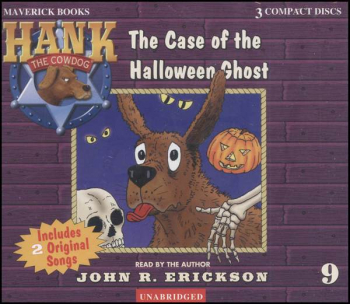 Hank #9 Case of the Halloween Ghost Audio CD