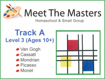 Meet the Masters @ Home Art Program Ages 10-Adult