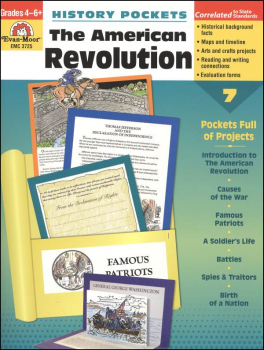 History Pockets - American Revolution