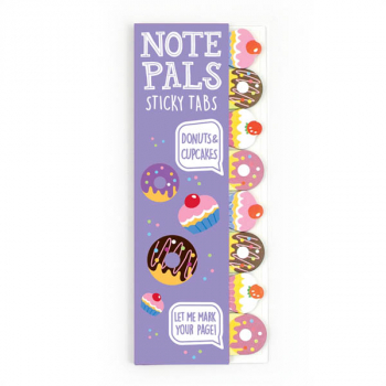 Note Pals Sticky Tabs - Donuts & Cupcakes