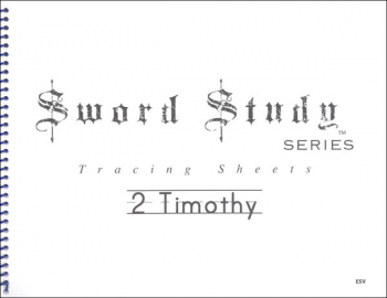 2 Timothy Sword Study Tracing Sheet - English Standard Version