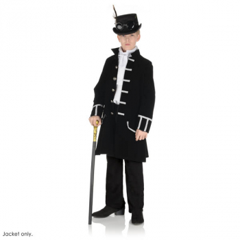 Black Frock Coat - Small