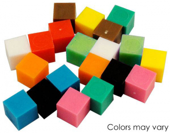 Centimeter Cubes - Set of 20 (2 Each of 10 Colors)