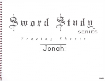 Jonah Sword Study Tracing Sheet - New American Standard Bible