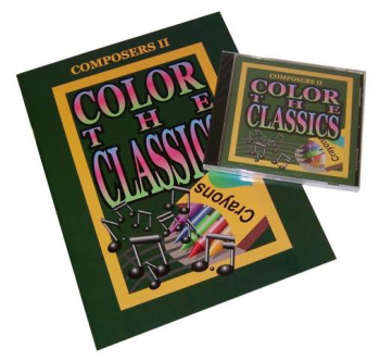 Color the Classics Composers II Book and CD