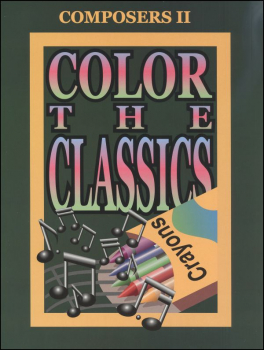 Color the Classics Composers II Book Only