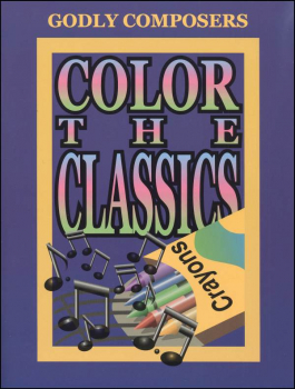 Color the Godly Composers Book Only