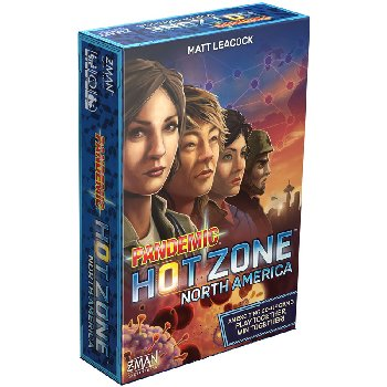 Pandemic: Hot Zone Game