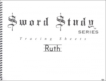 Ruth Sword Study Tracing Sheet - King James Version