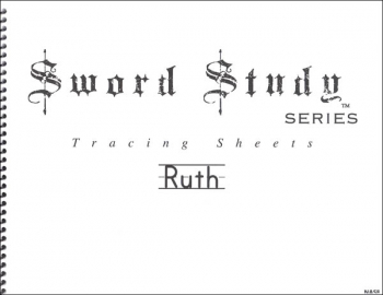 Ruth Sword Study Tracing Sheet - New American Standard Bible