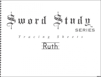 Ruth Sword Study Tracing Sheet - New King James Version