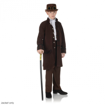Brown Frock Coat - Large