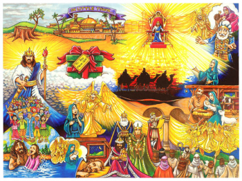 Pieces of the Promise: Birth of Christ Devotional Puzzle