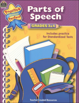 Parts of Speech Grades 3-4 (PMP)