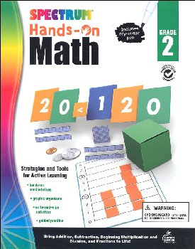 Spectrum Hands-On Math: Grade 2