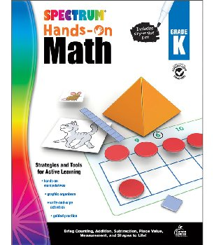 Spectrum Hands-On Math: Grade K