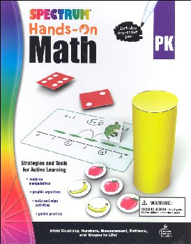 Spectrum Hands-On Math: Grade PK