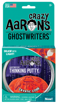 "Cryptic Code Putty 4"" Tin with Glow Charger (Ghostwriters)"