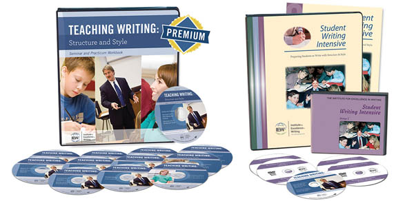 Teaching Writing Structure and Style / Student Writing Intensive Combo Set on DVD Level C
