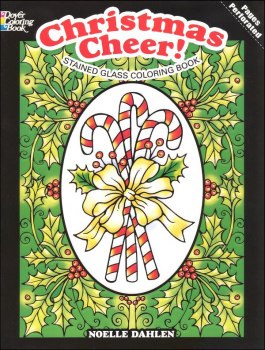 Christmas Cheer! Stained Glass Coloring Book